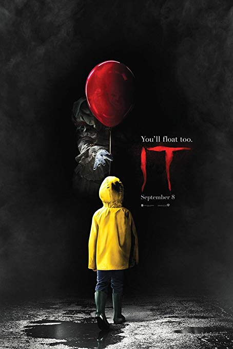 "Promotional Poster for the 2017 Movie ""IT"""