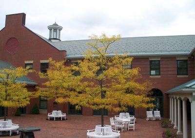 Courtyard in Autumn
