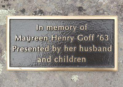 Memorial Garden Sign