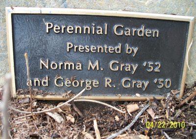 Perennial Garden Sign