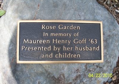 Rose Garden Sign